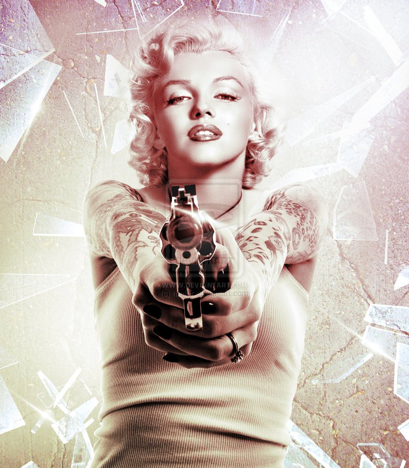 46 Marilyn Monroe Gangster Wallpaper On Wallpapersafari