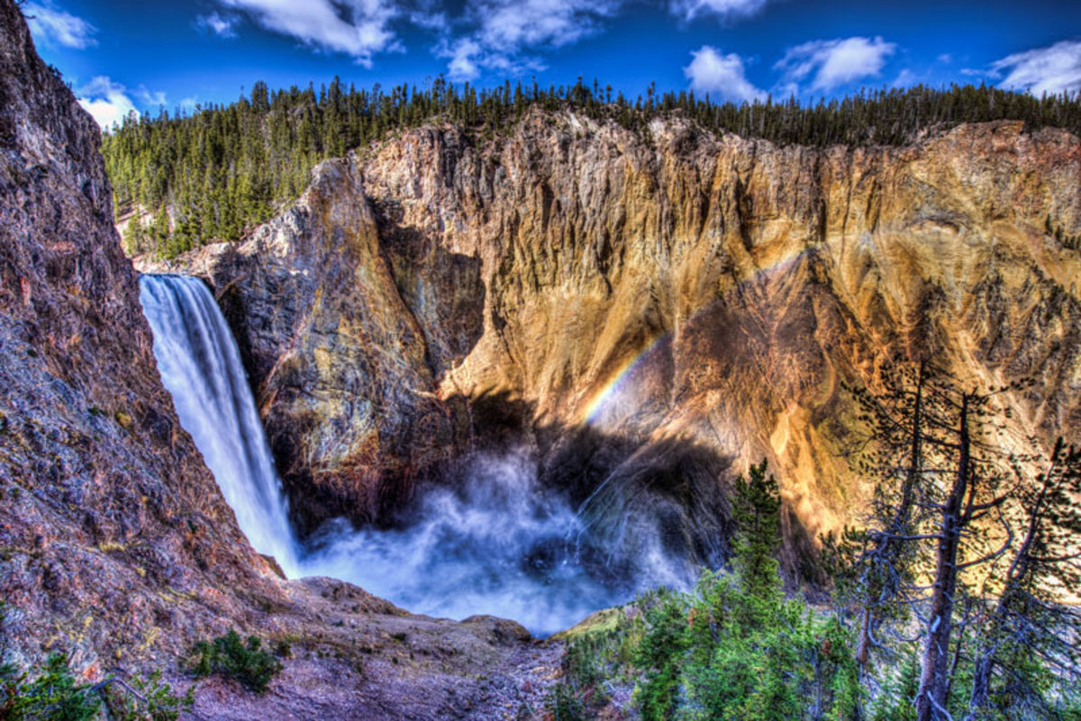 History of the Grand Canyon of the Yellowstone   My Yellowstone Park 1200x801