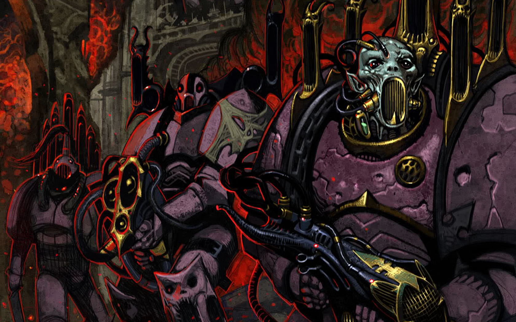 46+] Best Warhammer 40K Wallpapers on WallpaperSafari