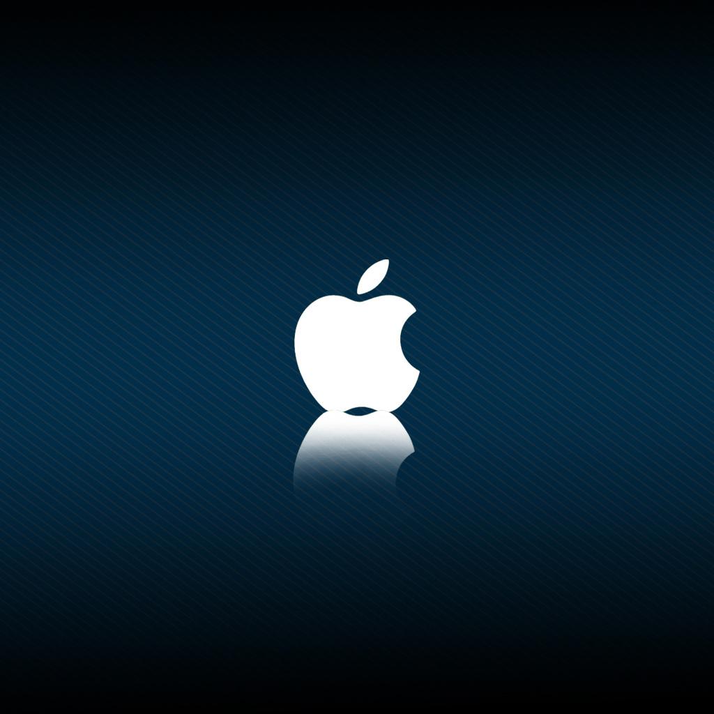 iPad Wallpapers New apple logo 4   Apple iPad iPad 2 iPad mini 1024x1024