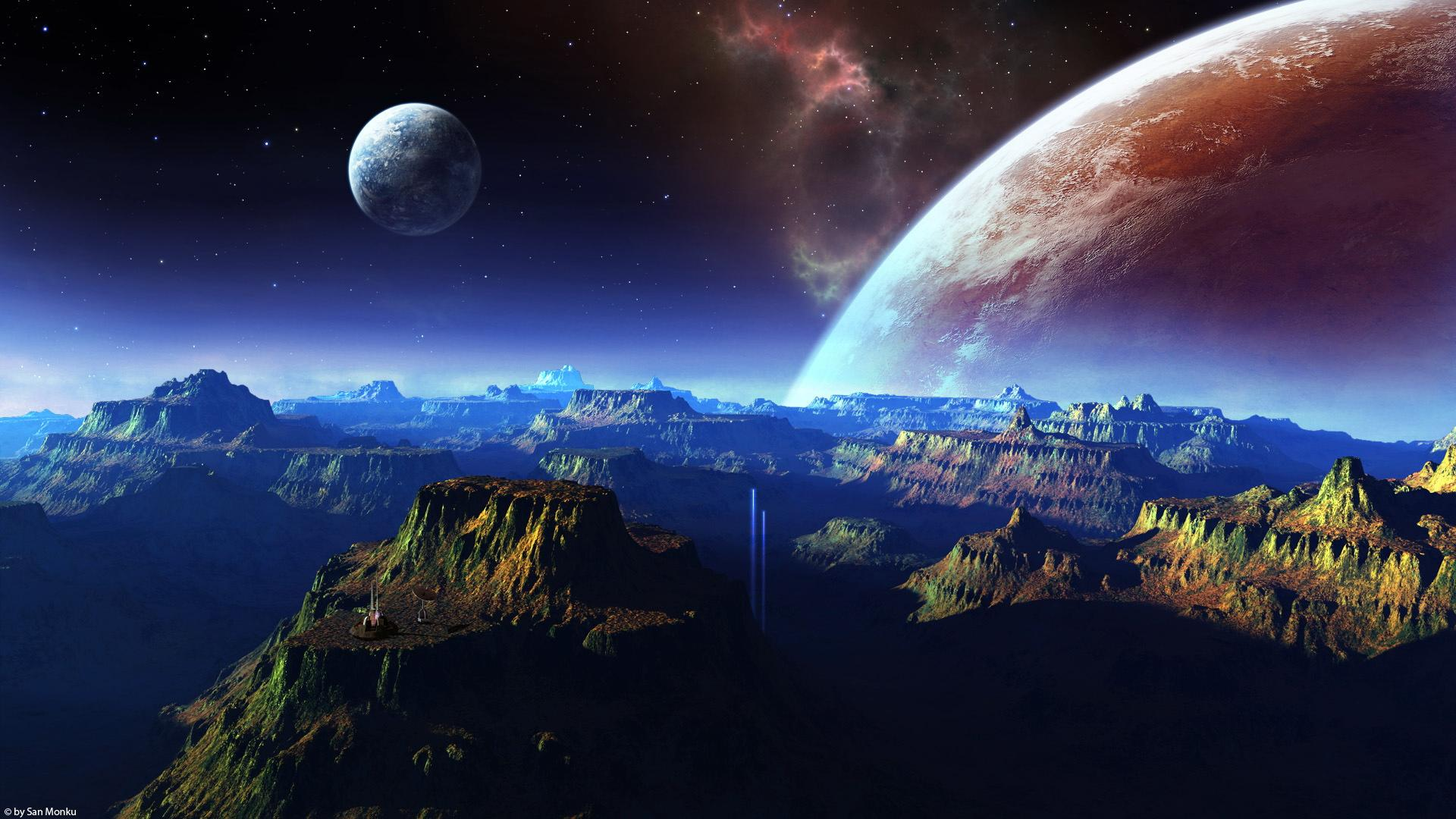 Desktop Backgrounds Space | Download HD Wallpapers