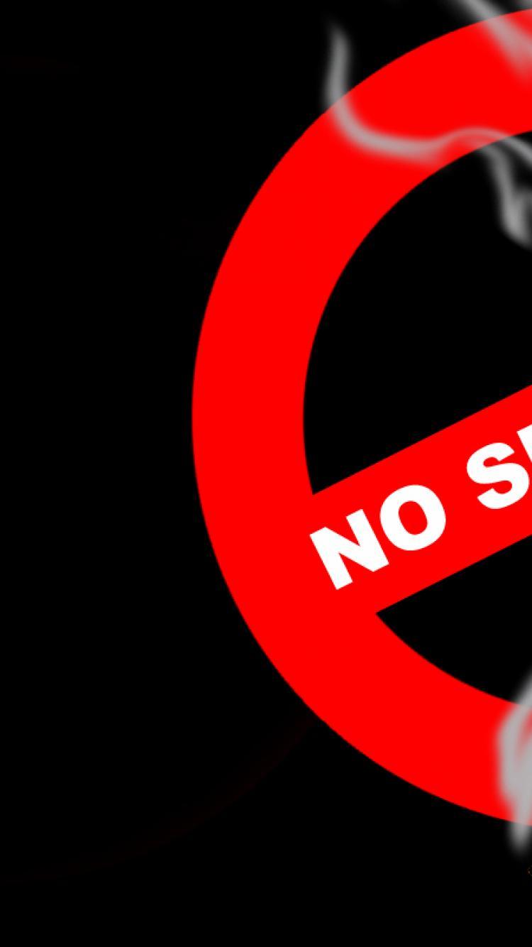 No Smoking Desktop Backgrounds 750x1334