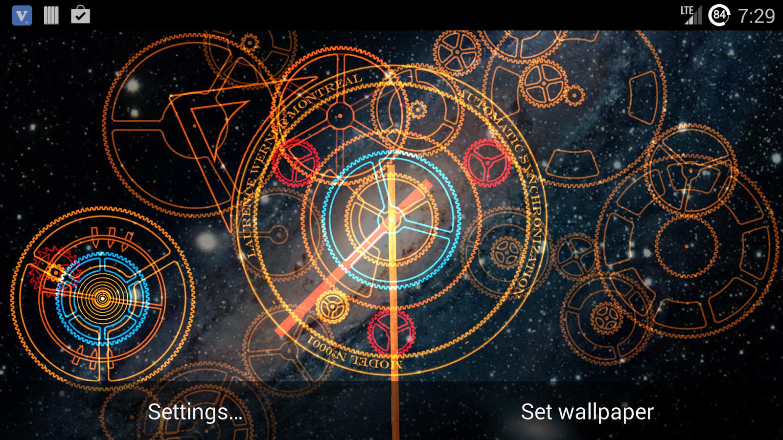 49+] Live Clock Wallpaper on WallpaperSafari