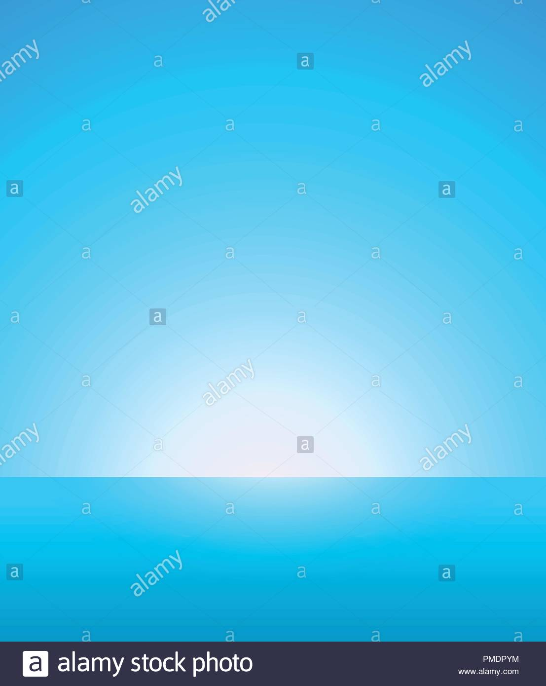 Abstract Vector Background of Nautical Marine Landscape with Blue 1107x1390