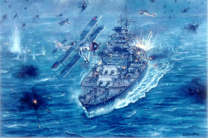 Pin Battleship Bismarck Wallpaper 702x466