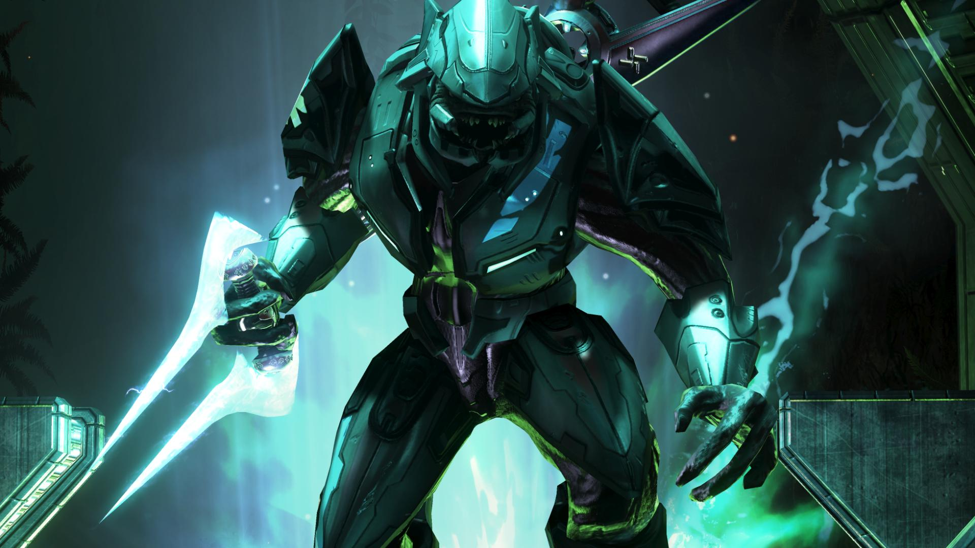 Halo Elite Wallpaper - WallpaperSafari
