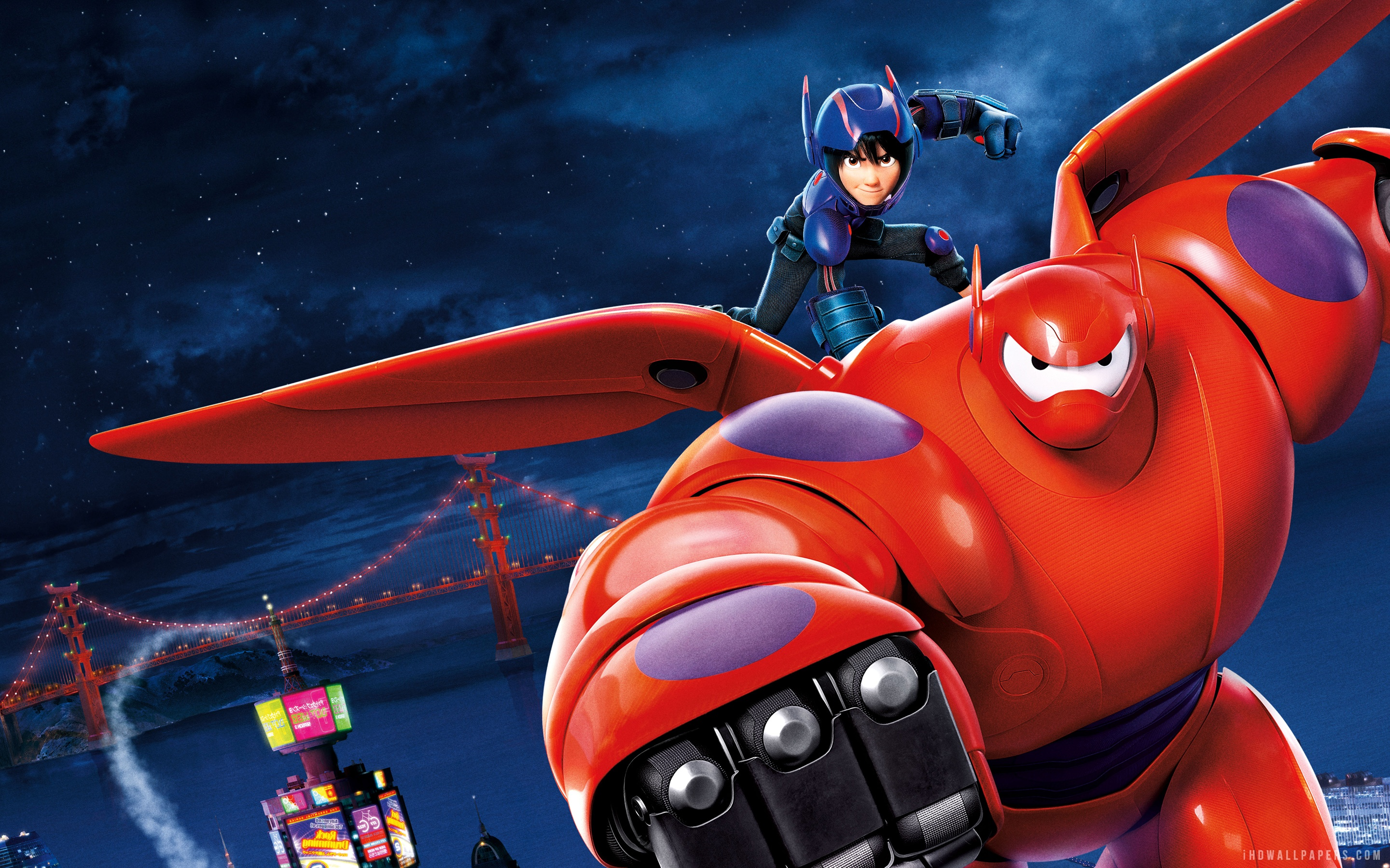 Big hero 6 hd wallpaper wallpapersafari - Superhero iphone wallpaper hd ...