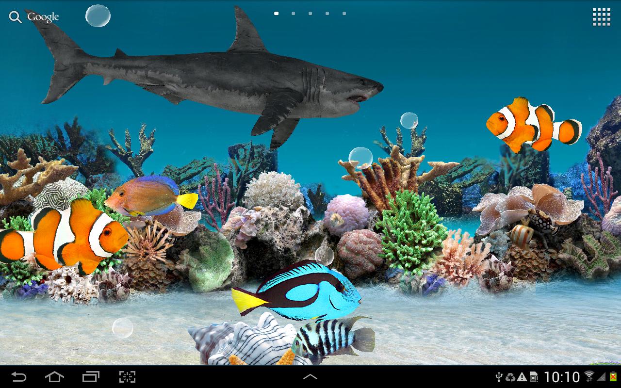 3D Aquarium Live Wallpaper Apps para Android no Google Play 1280x800