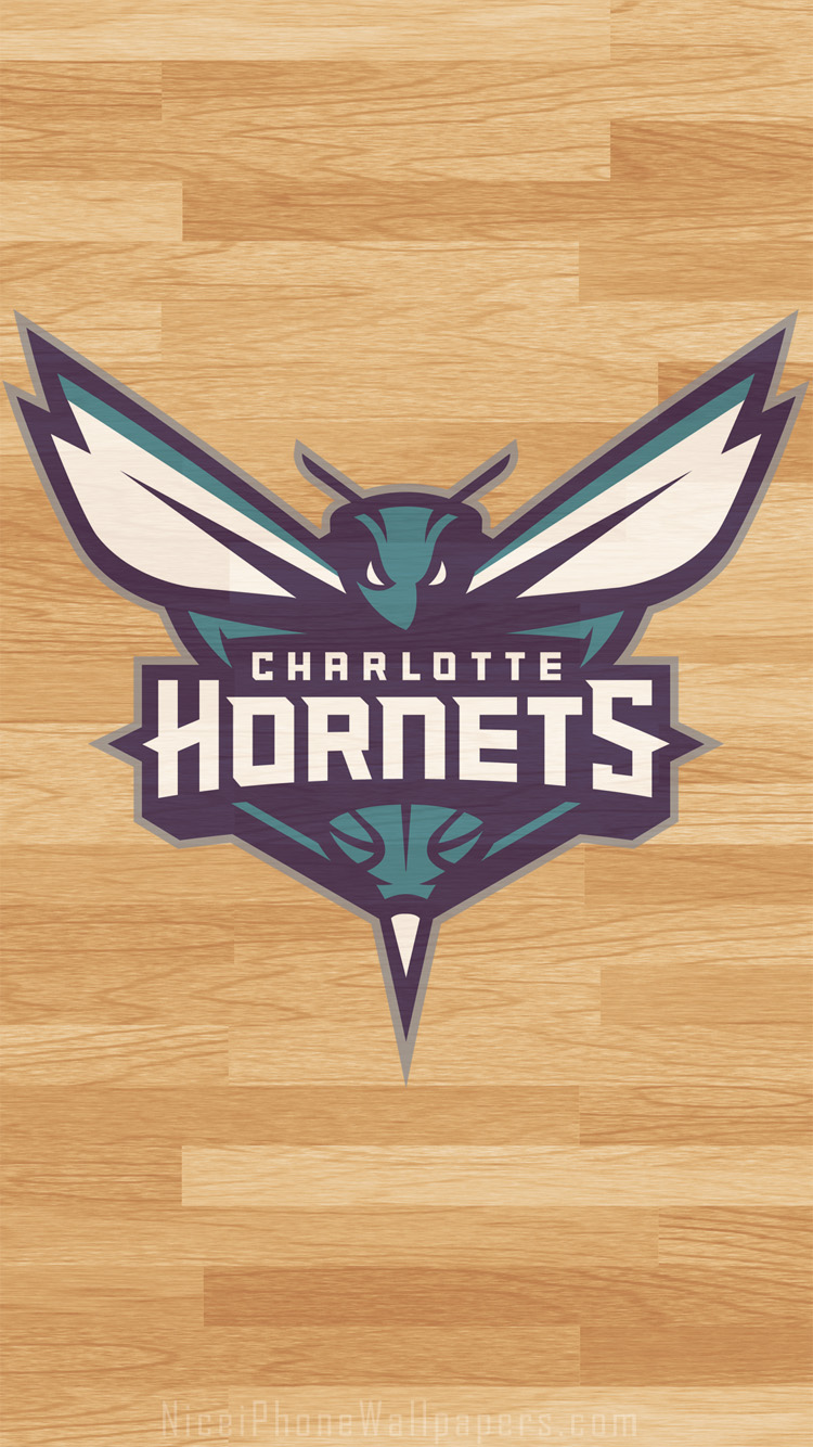 Download Charlotte Hornets iPhone 5 wallpaper and background 750x1334