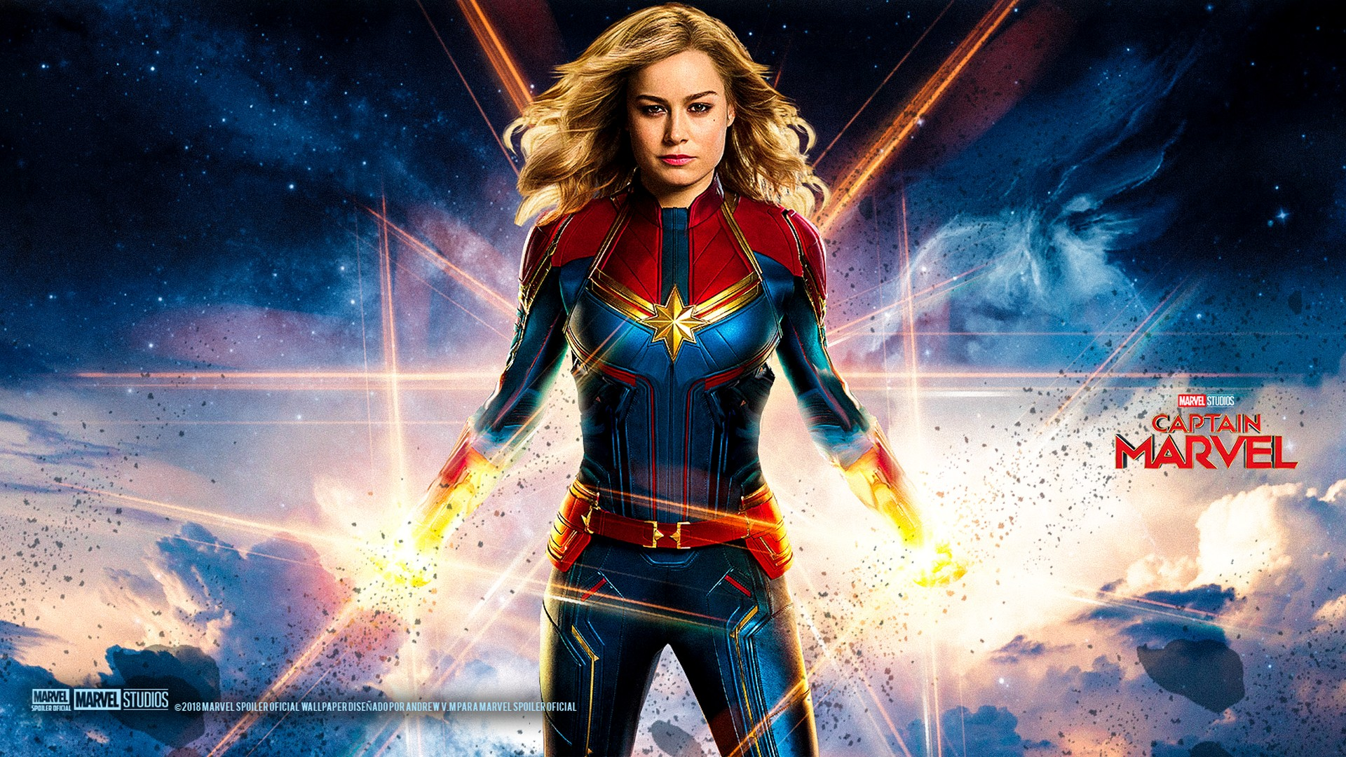Captain Marvel Wallpaper Fasrteam