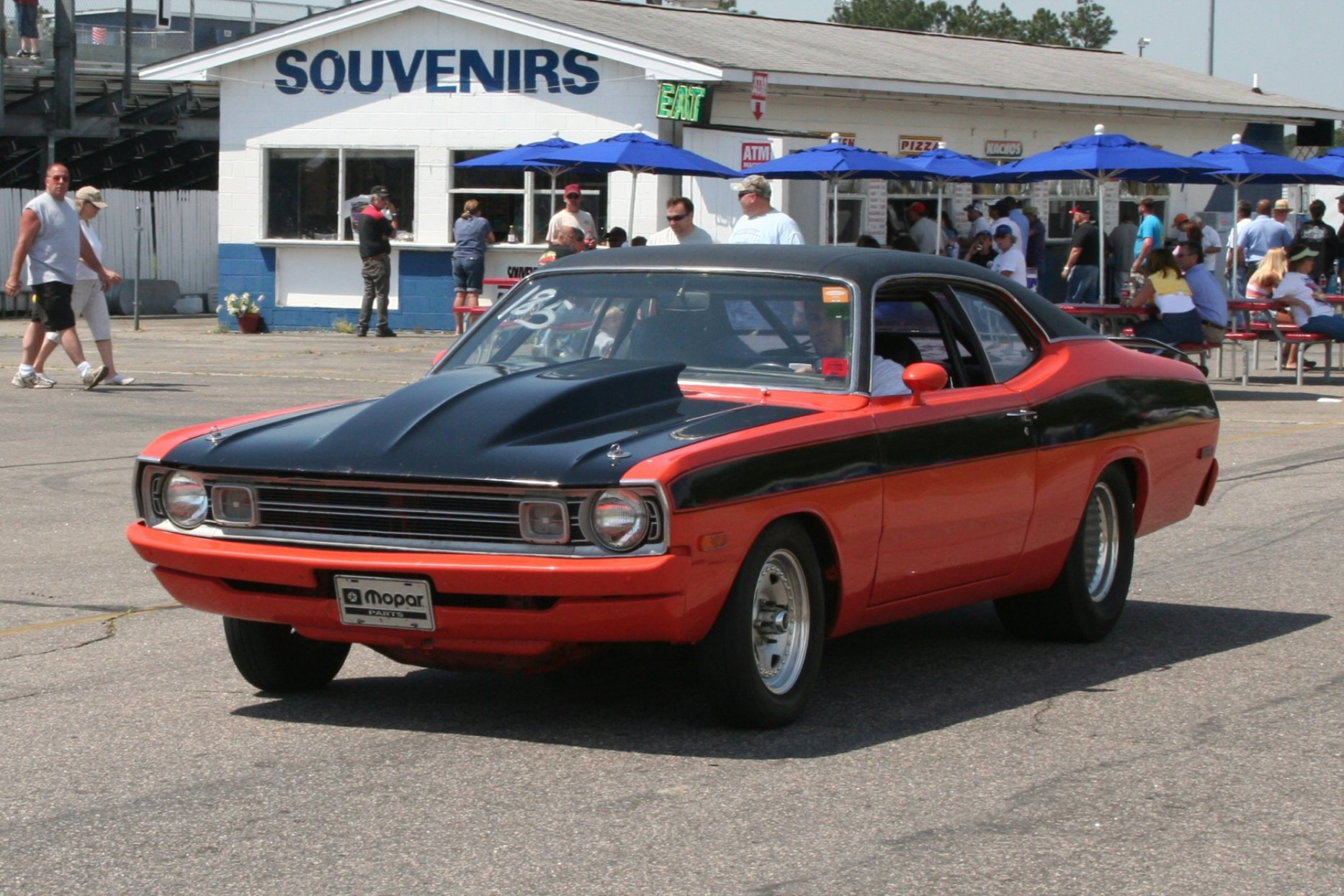 Dodge Demon muscle classic hot rod rods drag race racing g wallpaper 1866x1245