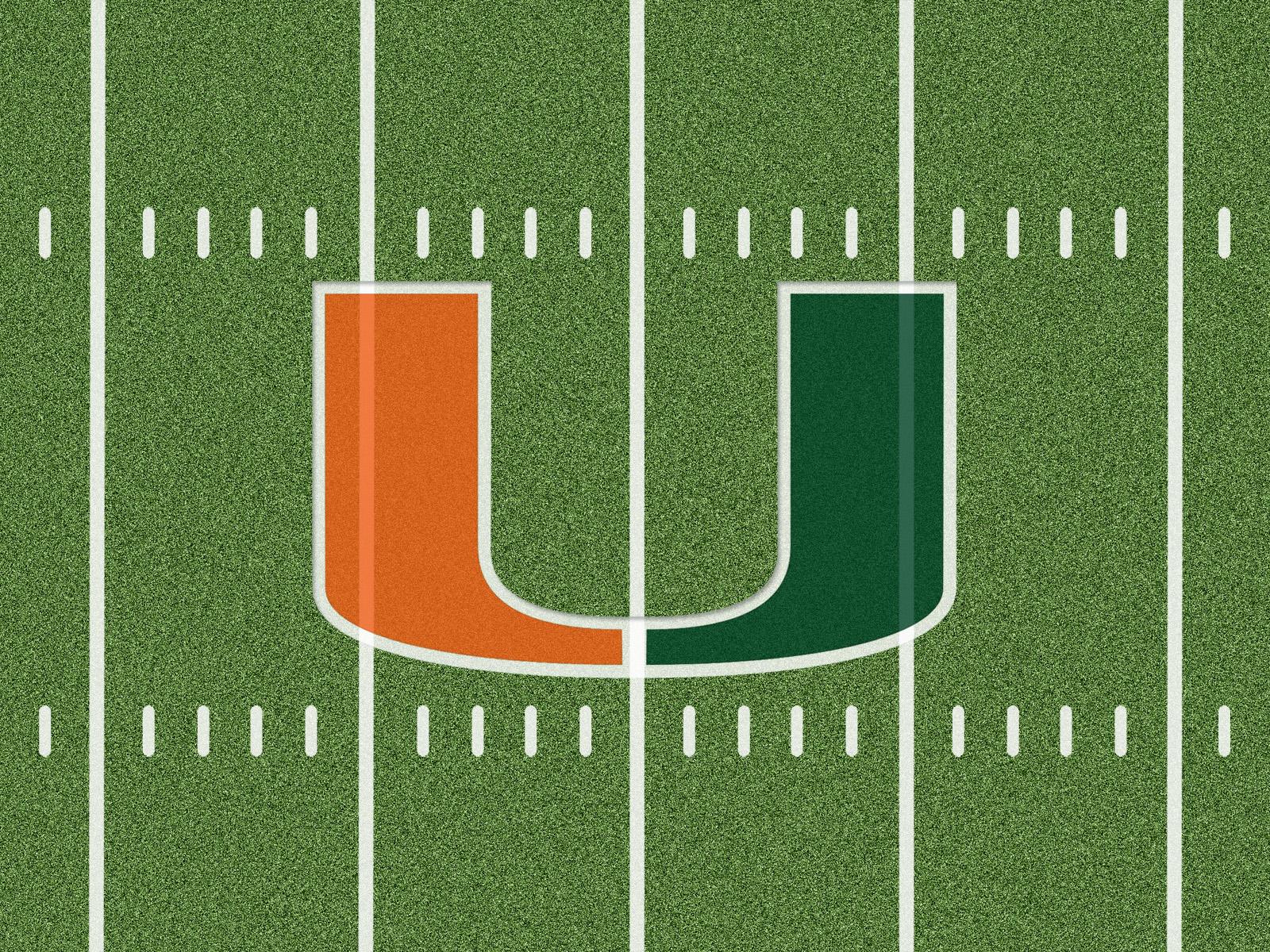 Miami Hurricanes Football Wallpaper 4996 Wallpaper WallpapersTube 1600x1200
