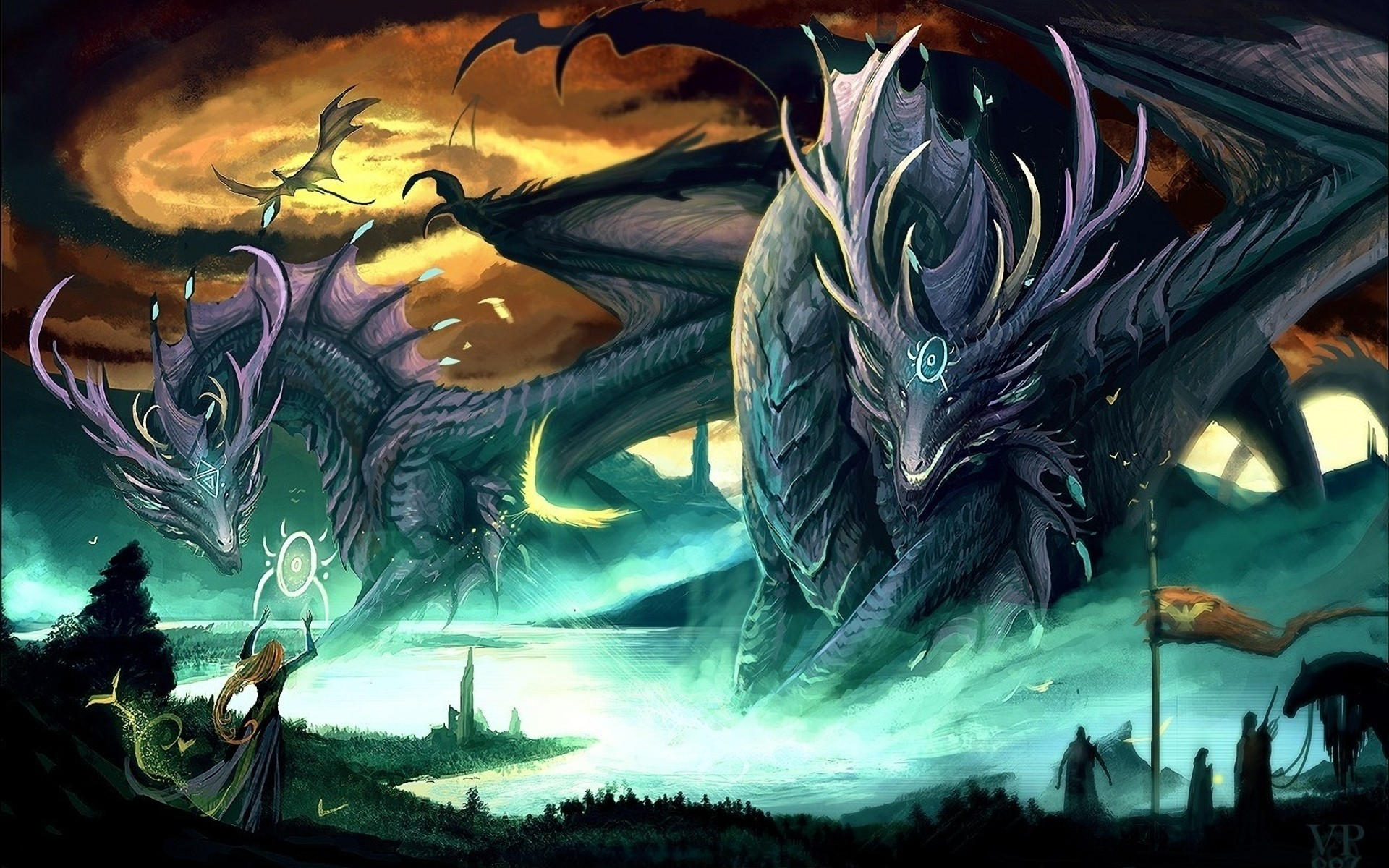 fantasy art creatures wallpaper 1920x1200 15754 WallpaperUP 1920x1200