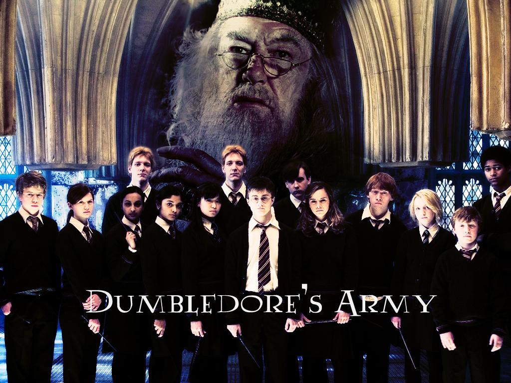 Dumbledores Army   Dumbledores Army Wallpaper 123514 1024x768