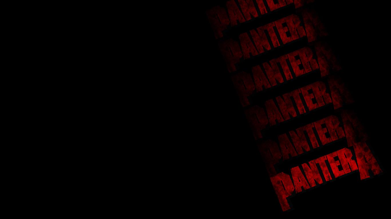 Pantera Music Wallpaper 1366x768 Pantera Music Dimebag Pantera 1366x768