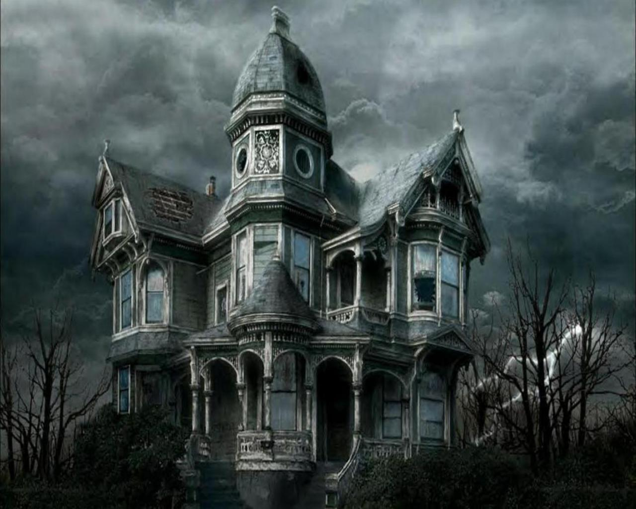 3d Haunted House Wallpaper Wallpapersafari