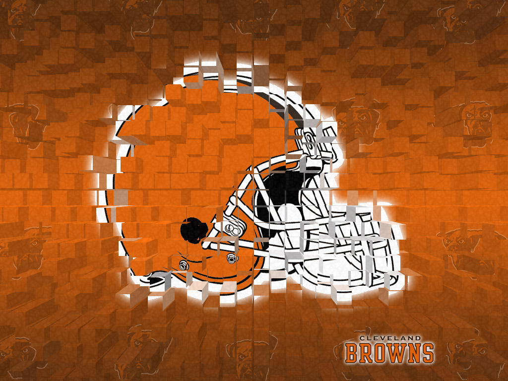 cleveland browns 3d wallpaper 1024x768 1024x768