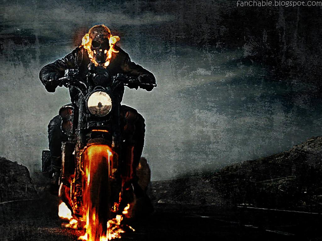 Ghost Rider Wallpaper Desktop HD Best Wallpaper 1024x768