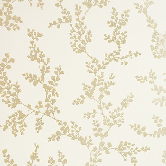 Gold flower wallpaper wallpapersafari - Laura ashley barcelona ...