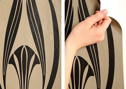 Removable Wallpaper How to Remove Wallpaper in Ten Easy Steps 503x356