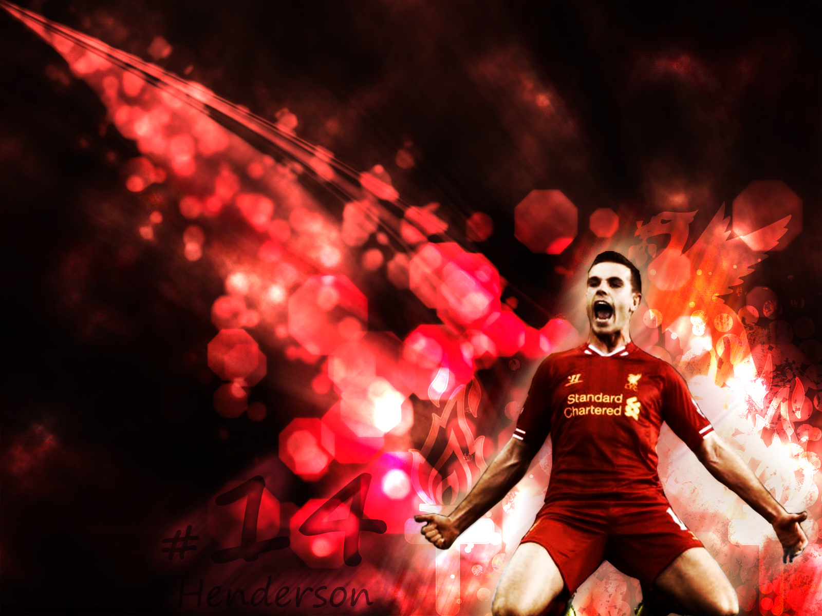 Liverpool FC Henderson Wallpaper by TheKopite 1600x1200