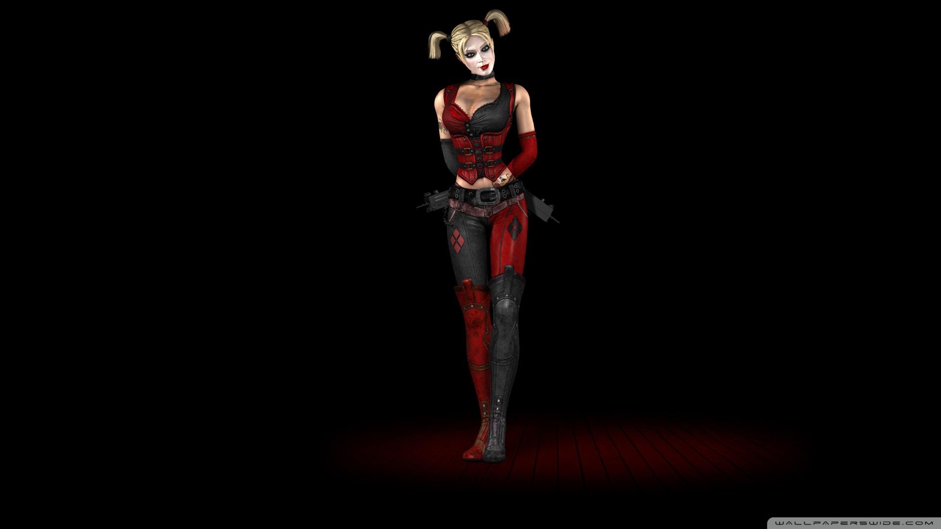 Harley Quinn Batman Arkham Harley Quinn Batman Arkham City Wallpaper 1920x1080