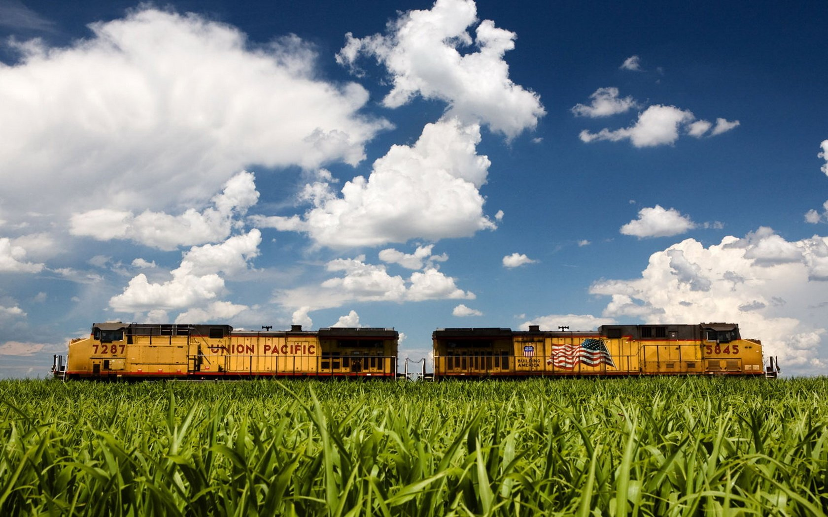 American train wallpapers and images   wallpapers pictures photos 1680x1050