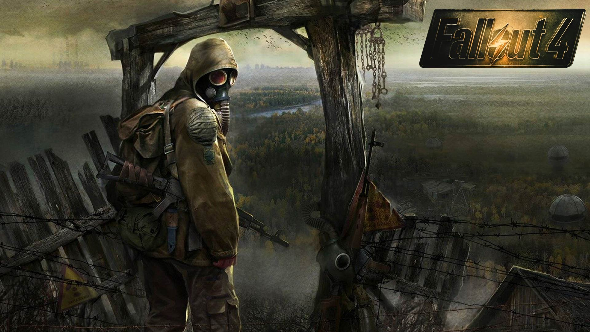 on October 2 2015 By Stephen Comments Off on Fallout 4 HD Wallpaper 1920x1080