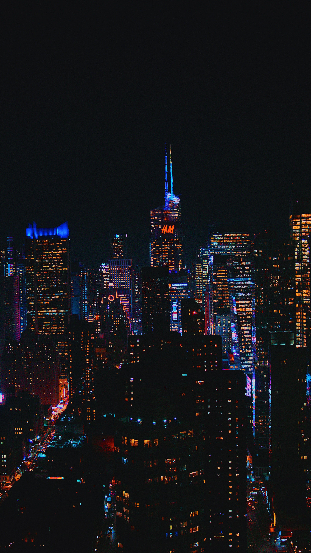 Wallpapers capital city skyline city paris manhattan in 2020 3376x6000
