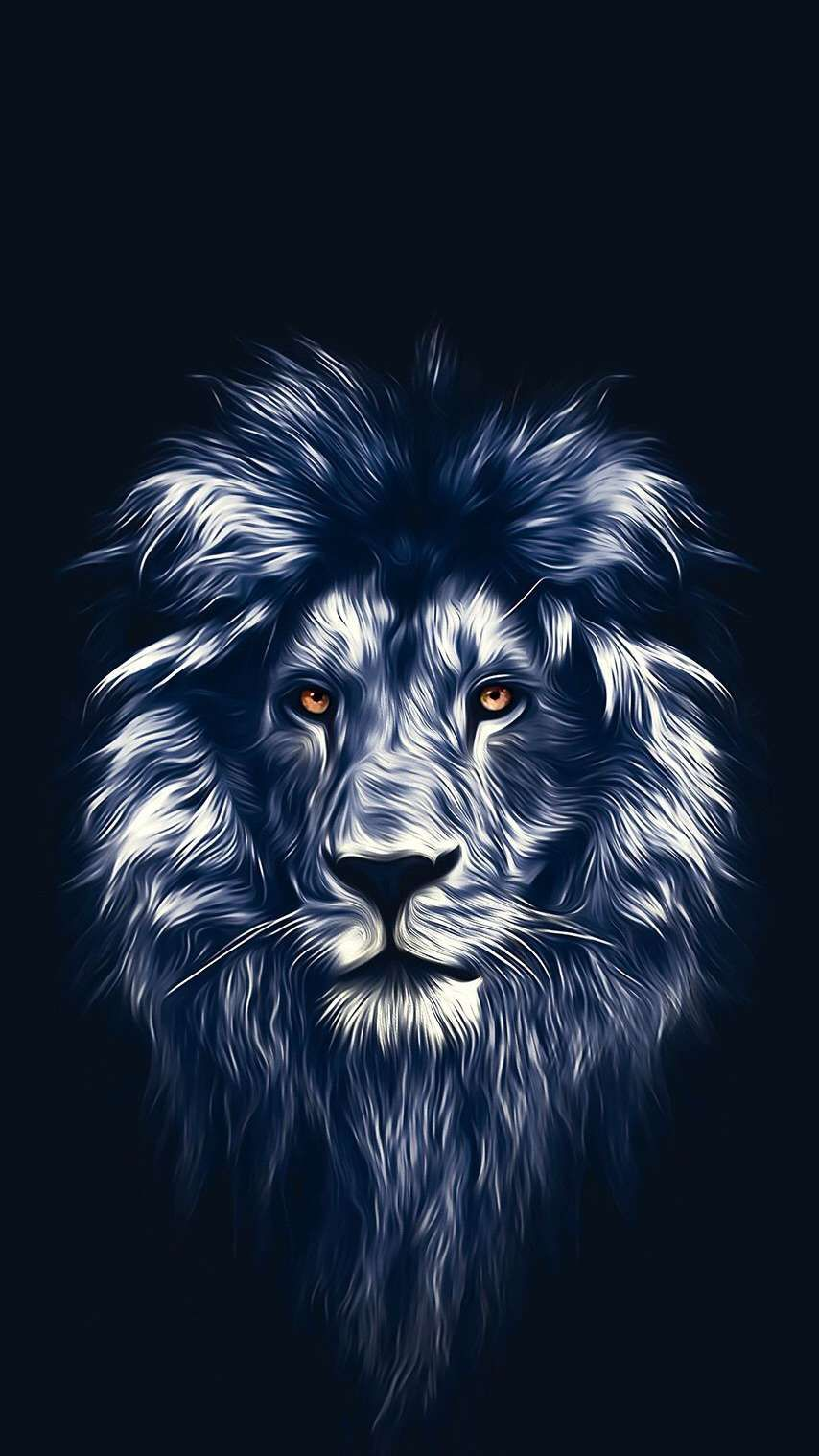 Lion Face Art iPhone Wallpaper Lion painting Lion art Lion 854x1518