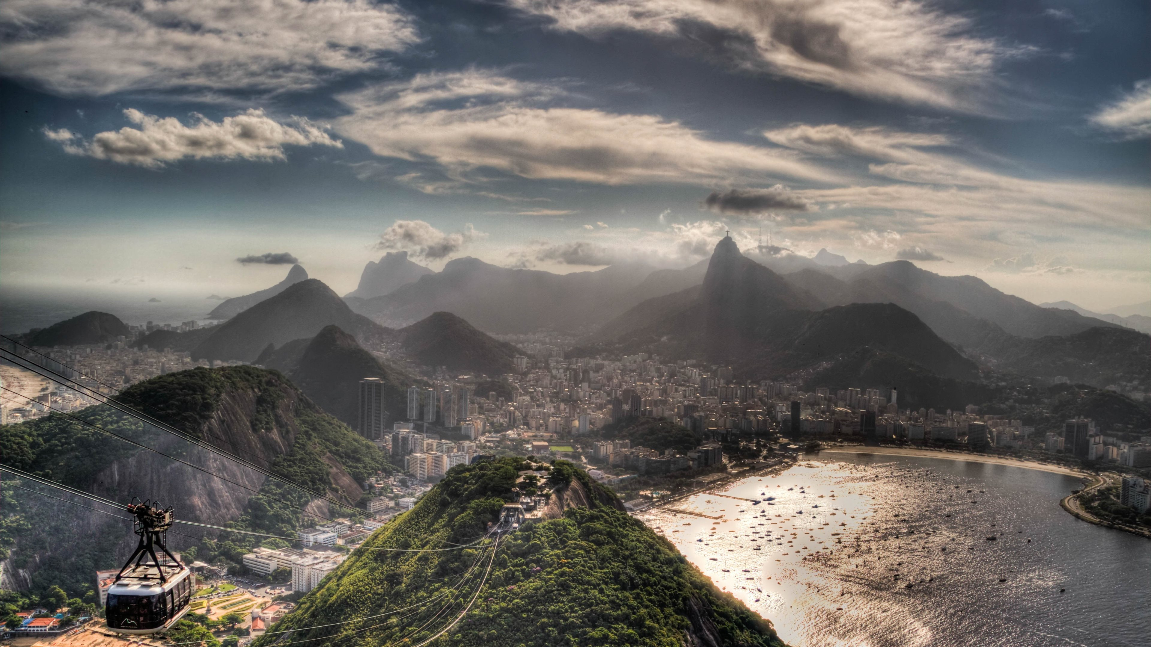 Man Made   Rio De Janeiro Wallpaper 3840x2160