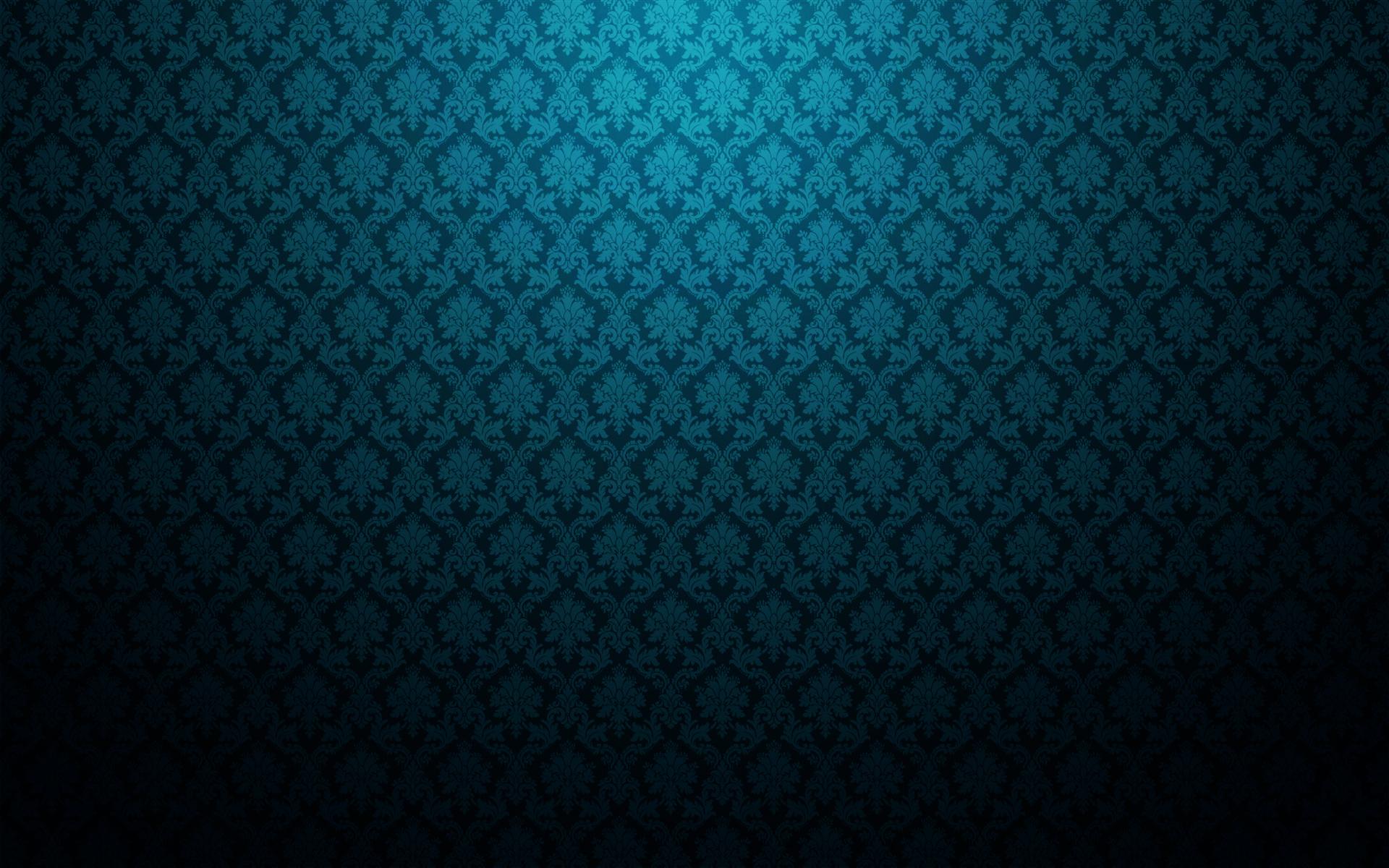 Blue vintage pattern wallpaper   226090 1920x1200