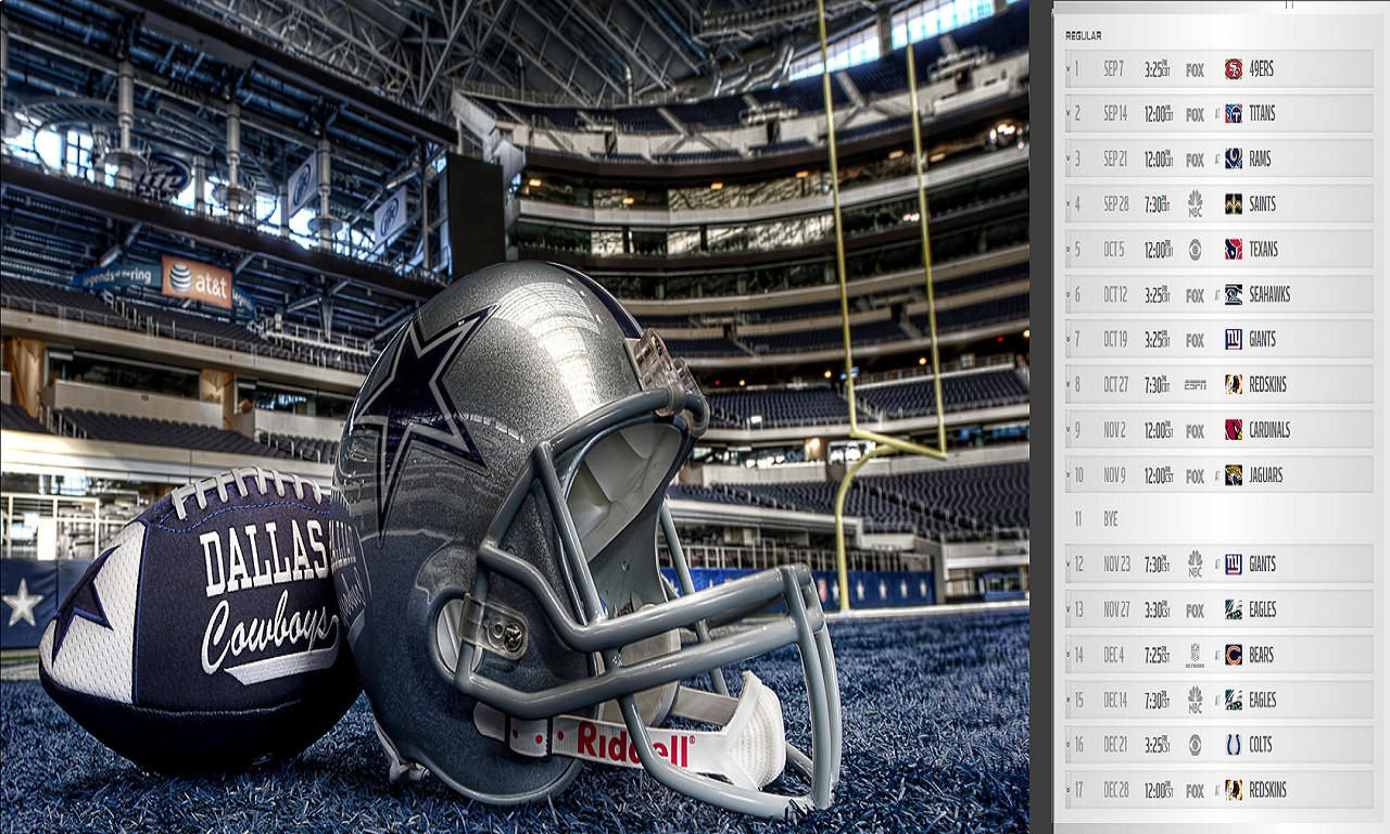 The Best 2014 Schedule Wallpaper Dallas Cowboys Forum   CowboysZone 1280x768