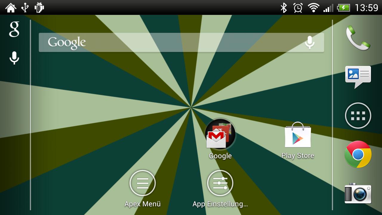 Live Wallpaper Rotating Colors rotatingrays screenshot 5png 1280x720