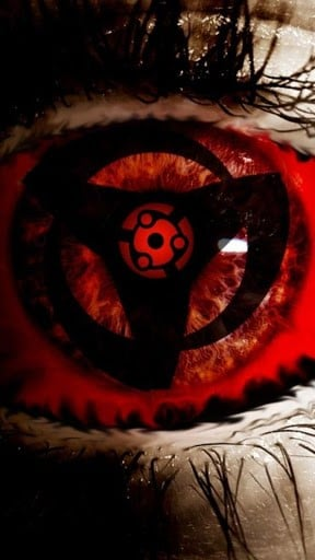 yellow sharingan hd wallpaper for your desktop background or desktop 288x512