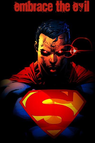Evil Superman Wallpaper The superman is pure evil 400x600