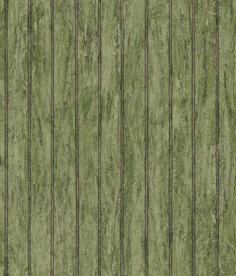 Weathered Bead Board Wallpaper 480x562