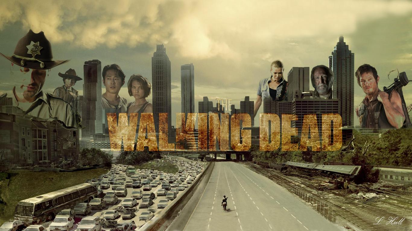 desktop backgrounds in my time heres AMCs The Walking Dead 1366x768