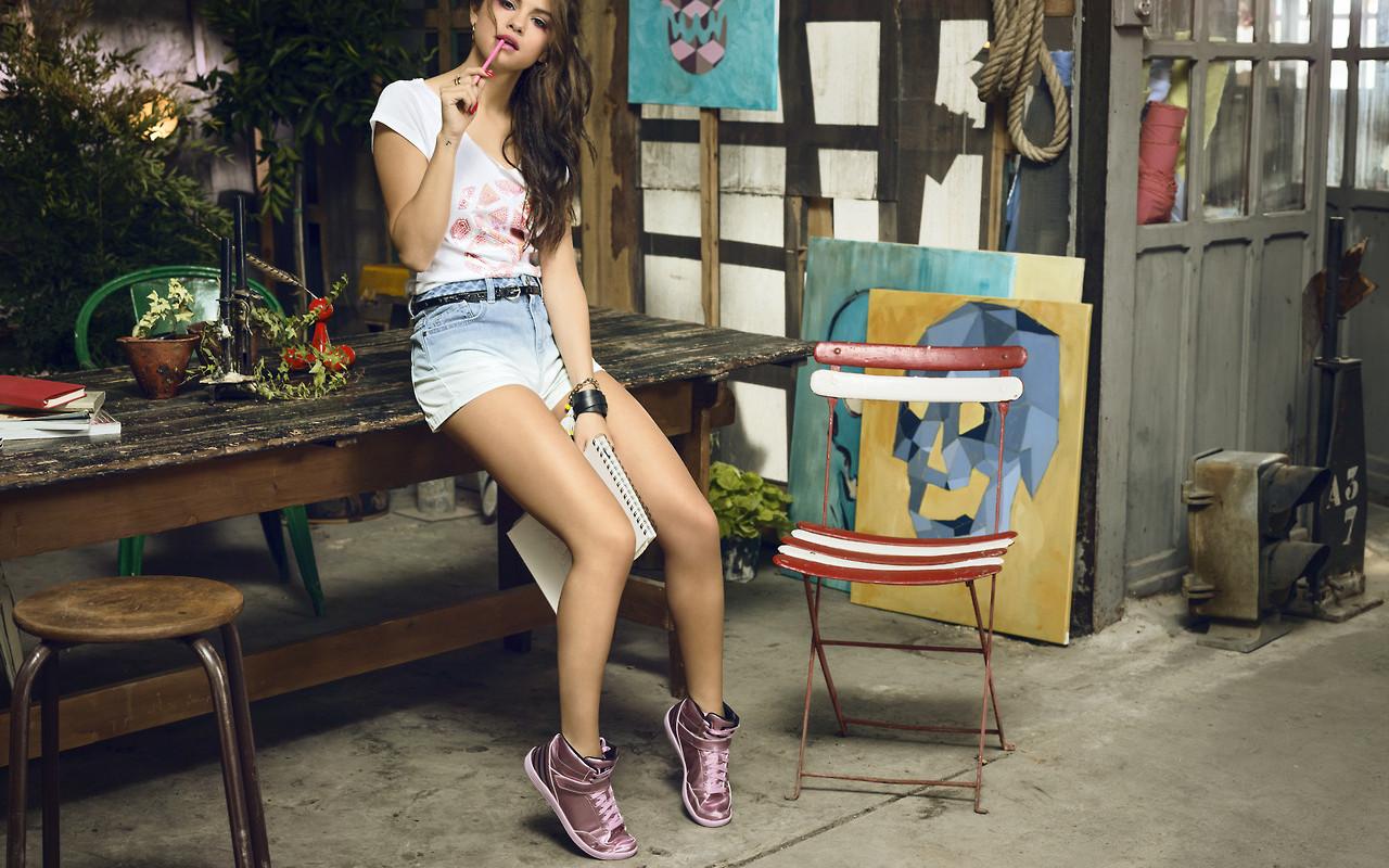 Adidas Neo Selena Gomez 2015 Female Celebrities HD Wallpapers 1280x800
