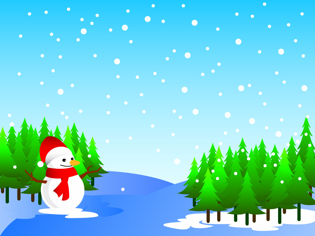 Christmas snowman wallpapers and cartoon drawing art picturesimages 1024x768