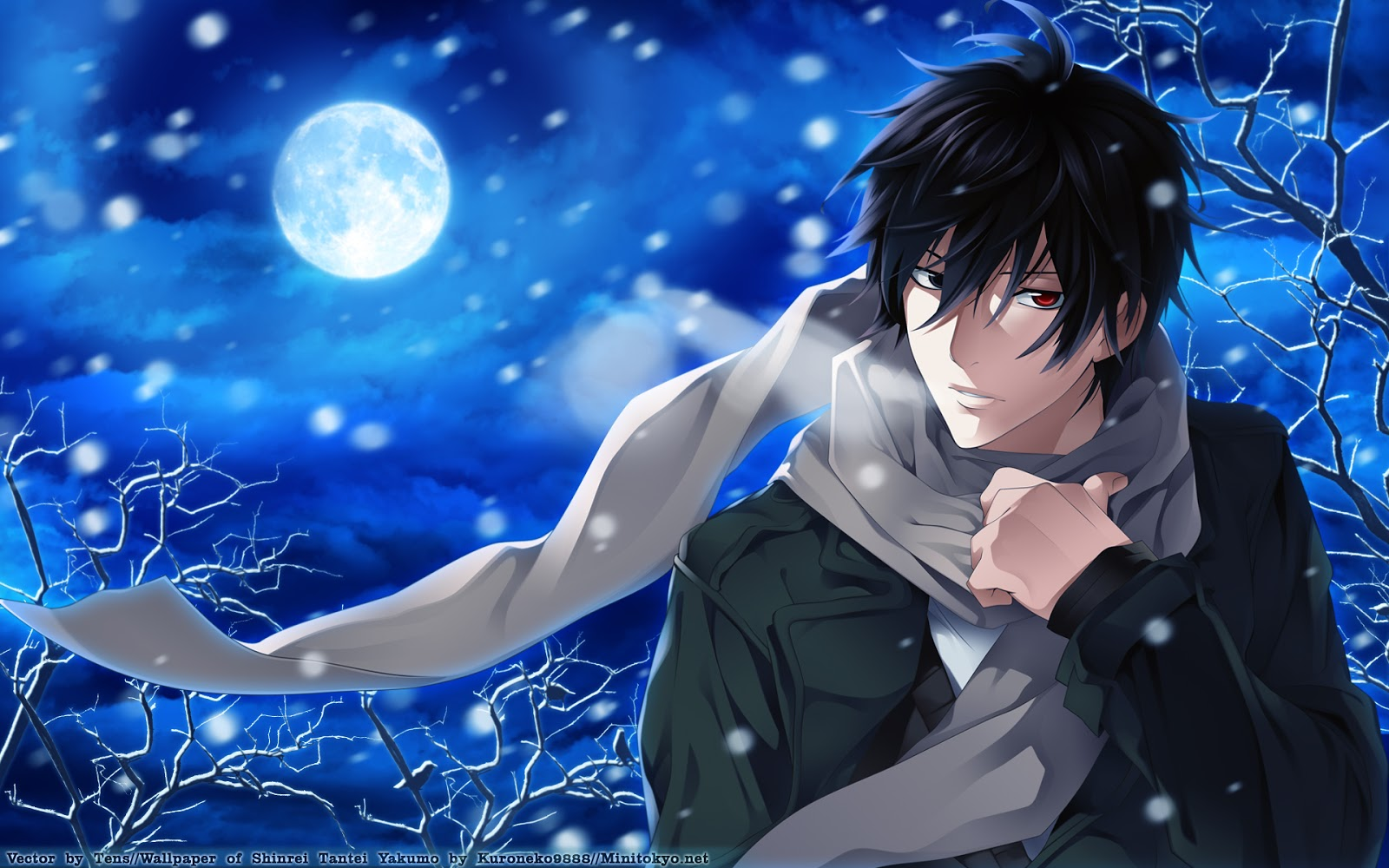 Anime cool guy wallpaper wallpapersafari - Anime guy wallpaper ...