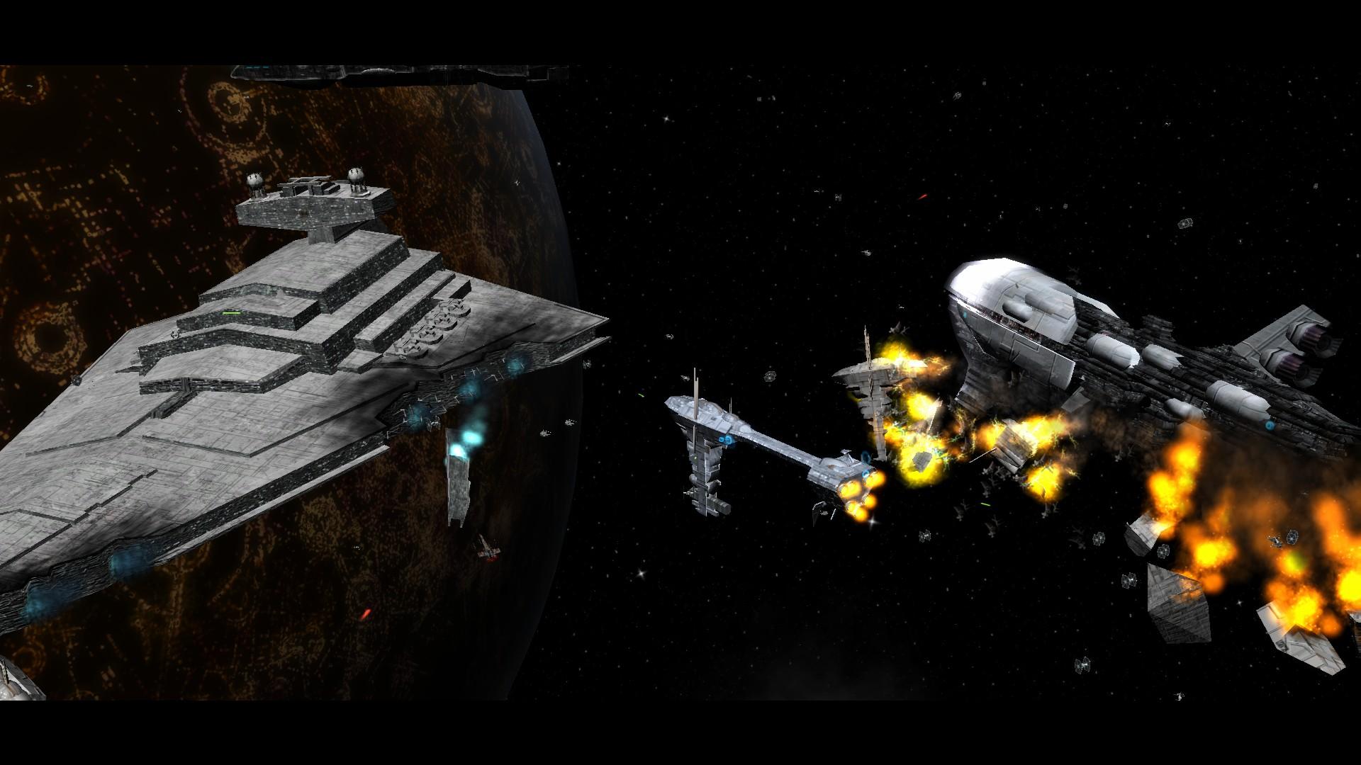 Star Wars Space Battle Hd Wallpaper  war full modimagesspace 1920x1080
