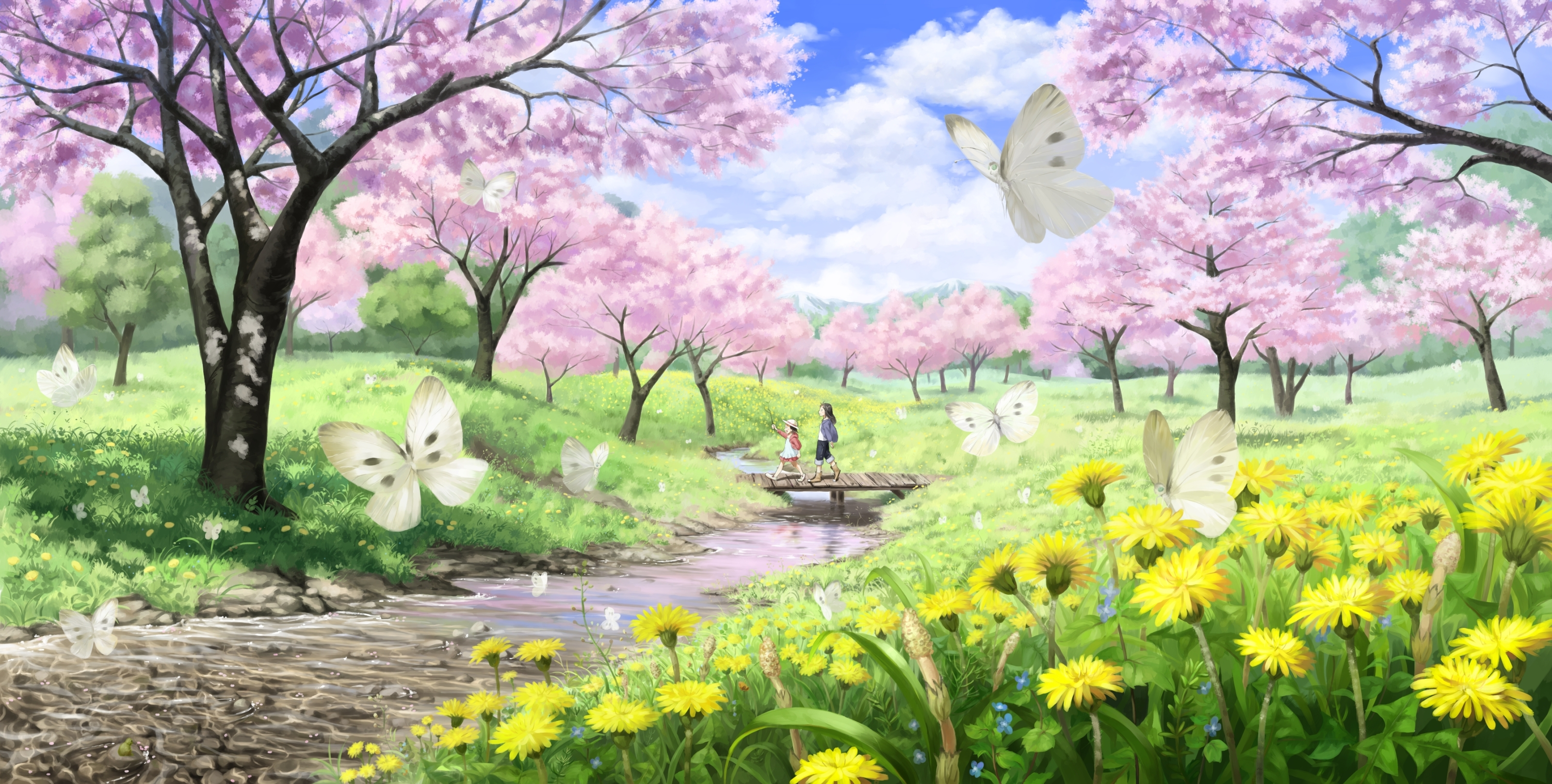 Gallery Images And Information Early Springtime Wallpaper 3200x1617