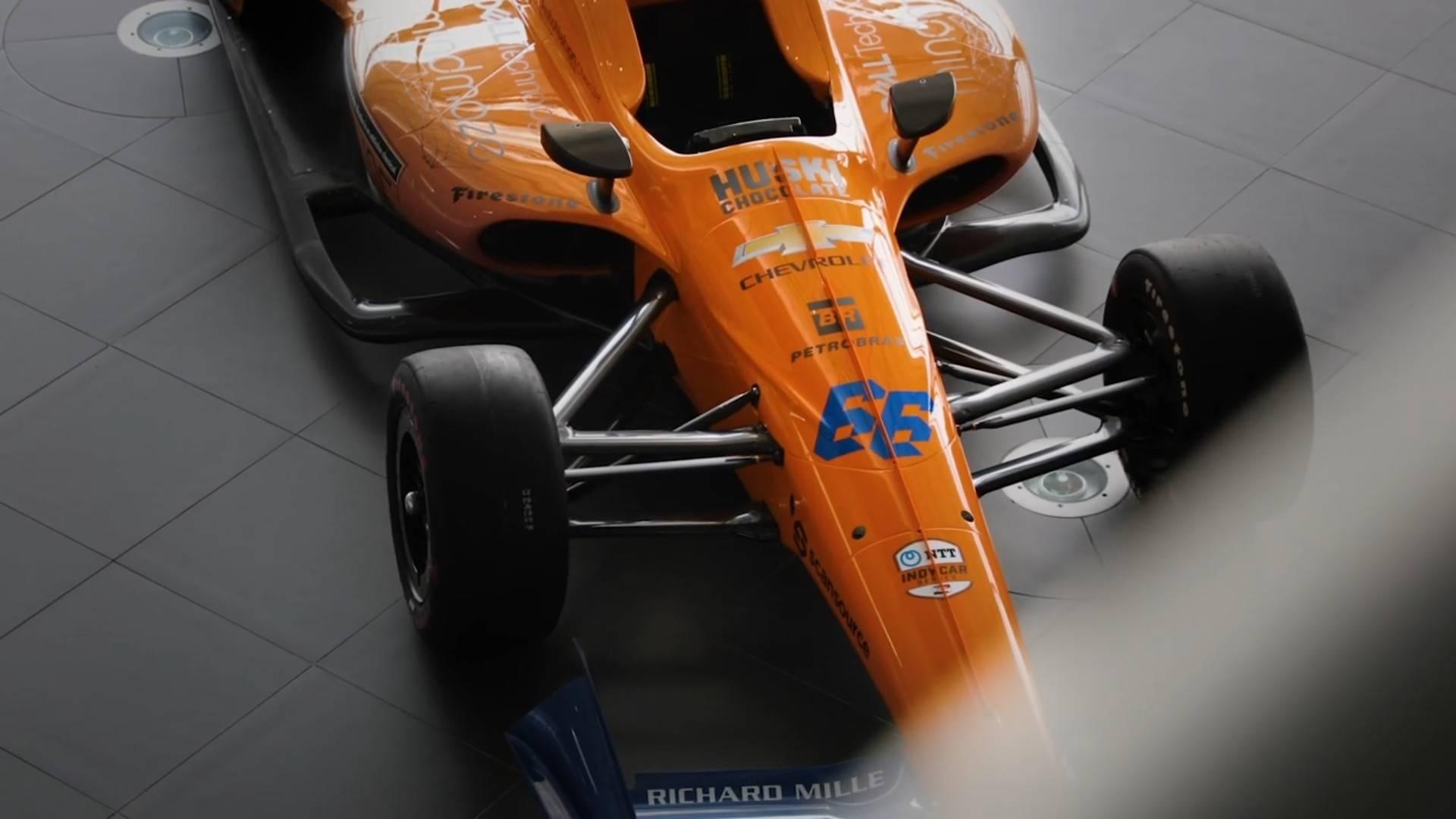 Fernando Alonsos Indy 500 McLaren reveal   IndyCar Videos 1920x1080