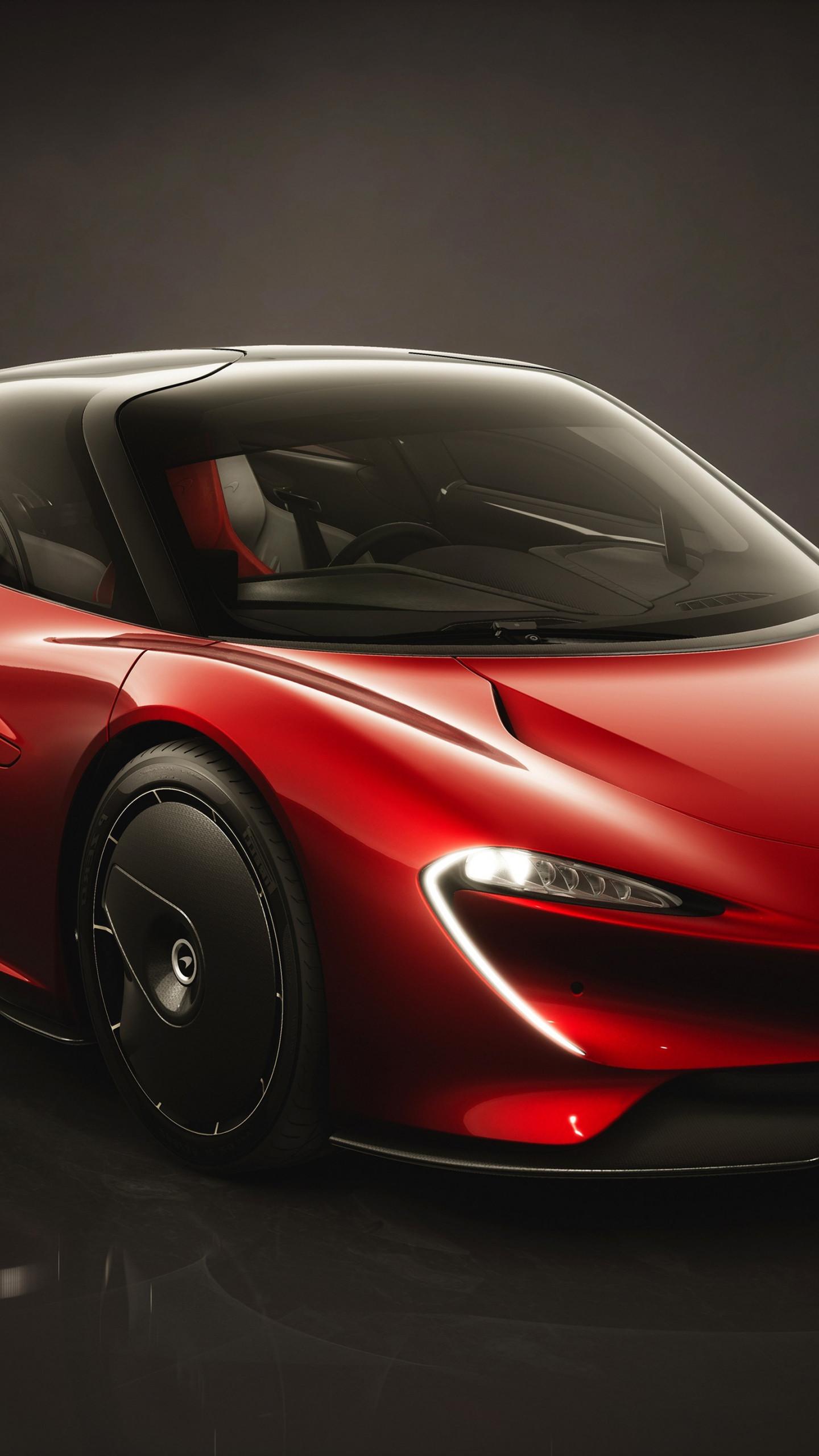 Download wallpaper McLaren Speedtail Bloodline 1440x2560 1440x2560