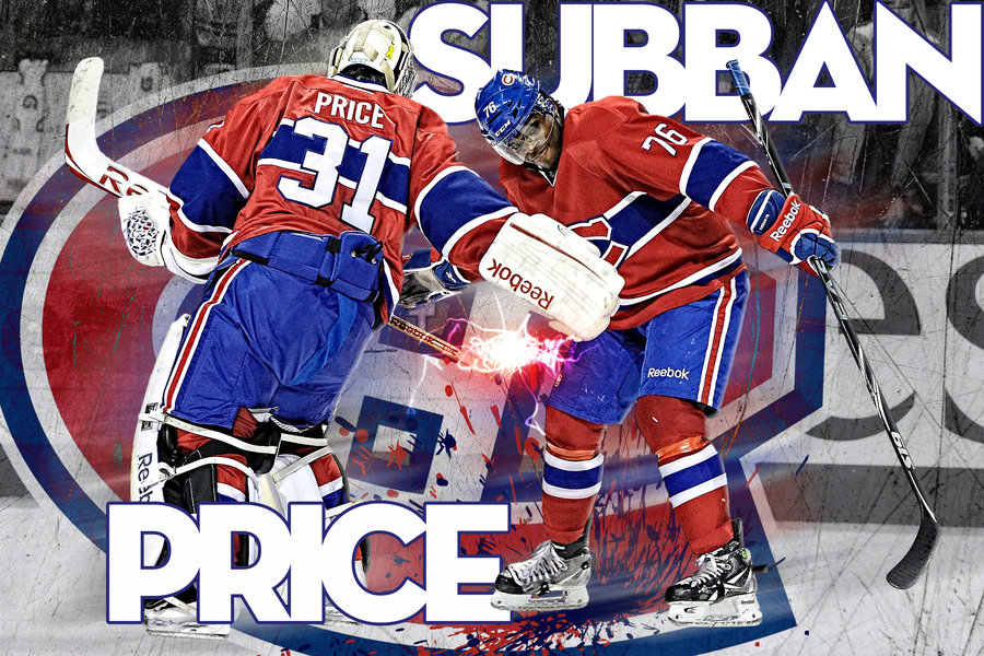 Carey Price Wallpaper Carey price and pk subban by 900x600