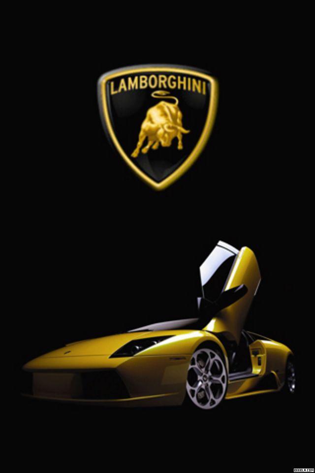download Lamborghini Logo Wallpaper HD [640x960] for your 640x960