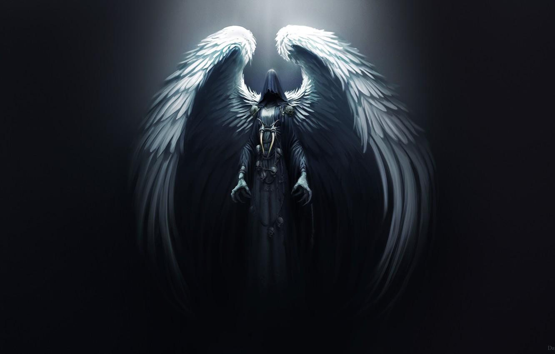 Wallpaper Angel Dark Wings Death Goddess Darkness Horror 1332x850