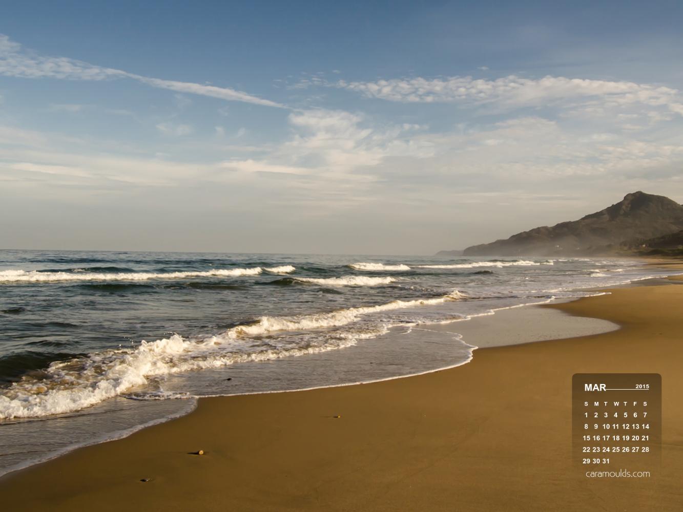 March 2015 Desktop Wallpaper Calendar   Cara Moulds 1333x1000