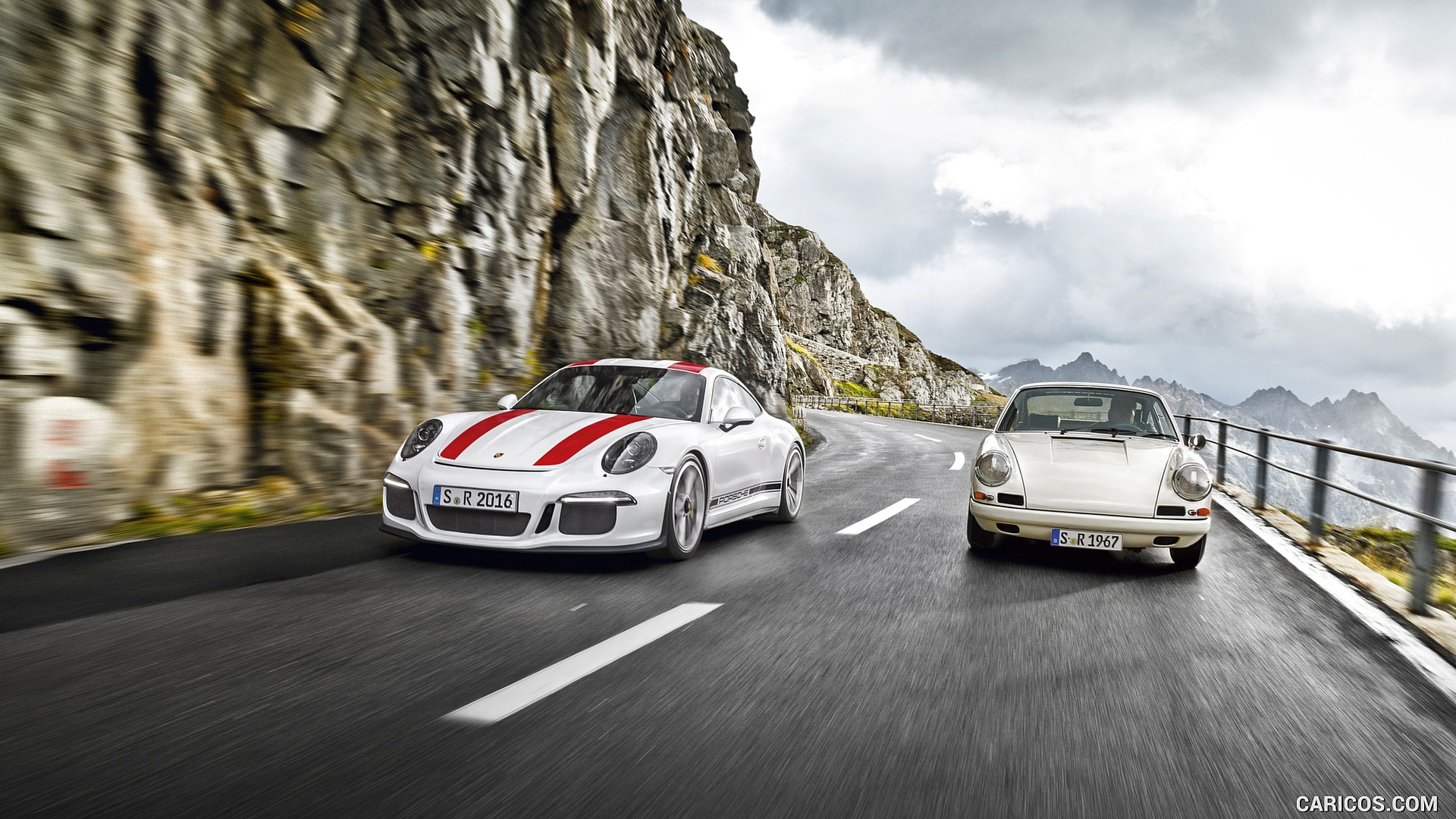 2017 Porsche 911 R and 1967 911 R   Front HD Wallpaper 15 1920x1080